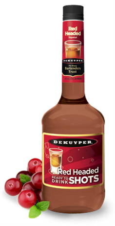 Dekuyper Red Headed Shots